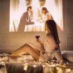 Romantic Projector Hire
