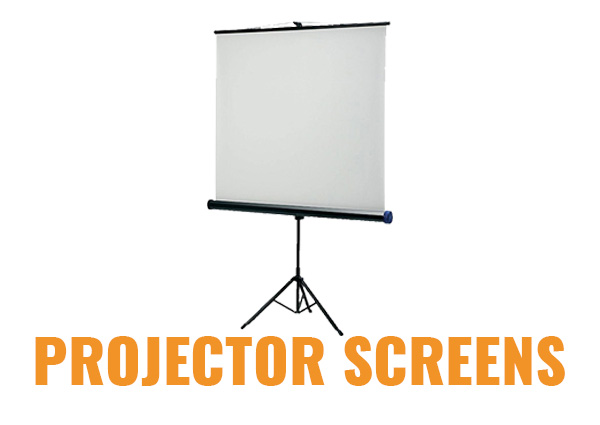 Projector Screens for Hire